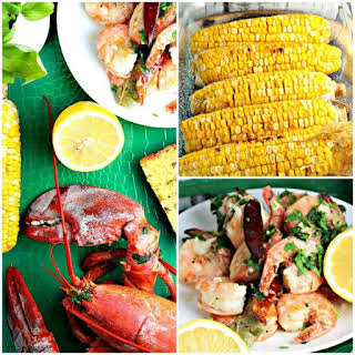 Lobster and Shrimp Dinner.