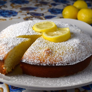 Lemon Olive Oil Cake.