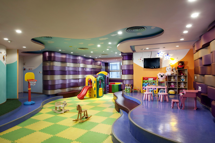 Kids area at Somerset Riverview Chengdu