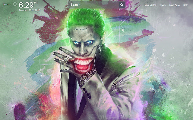 Joker Wallpapers Theme New Tab