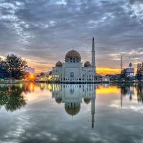 Morning Has Broken I by Mohd Zairo Sany - Landscapes Waterscapes