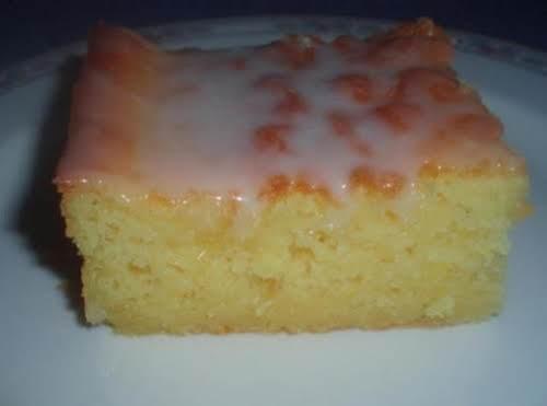 "Ice Box Lemon Drop Cake ""This cake is very moist and refreshing...."