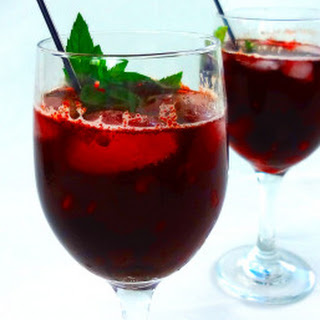 Easy Red Wine Sangria.