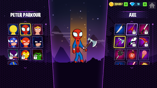 Stickman Fighting 2 - Supreme stickman duel  screenshots 4