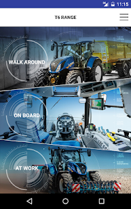 New Holland Ag. T6 range App screenshot 10