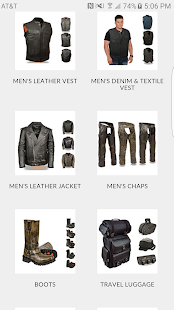 Biker apparel online- screenshot thumbnail