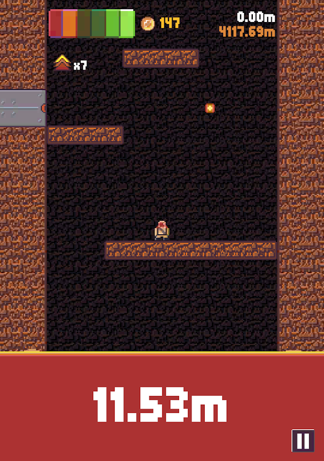 Volcano Climber- screenshot