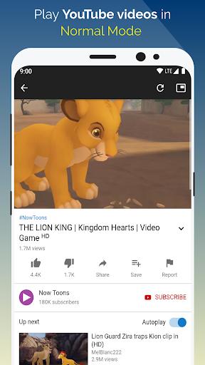 Float Tube-Few Ads, Floating Player, Tube Floating 1.5.18 screenshots 3