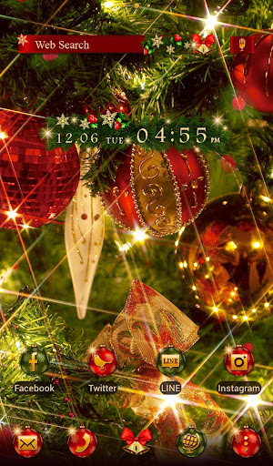 Wallpaper Twinkly Xmas Theme 1.0.1 Windows u7528 5