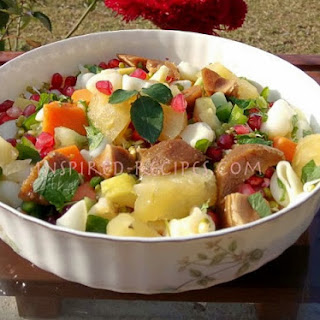 Fruit, Vegetable and Macaroni Pasta Salad.