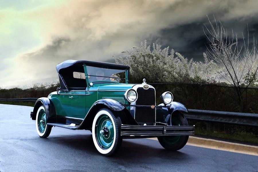 1937 Chevrolet Cabriolet by JEFFREY LORBER - Transportation Automobiles ( rust 'n chrome, chevrolet, cabriolet, 1937, lorberphoto )