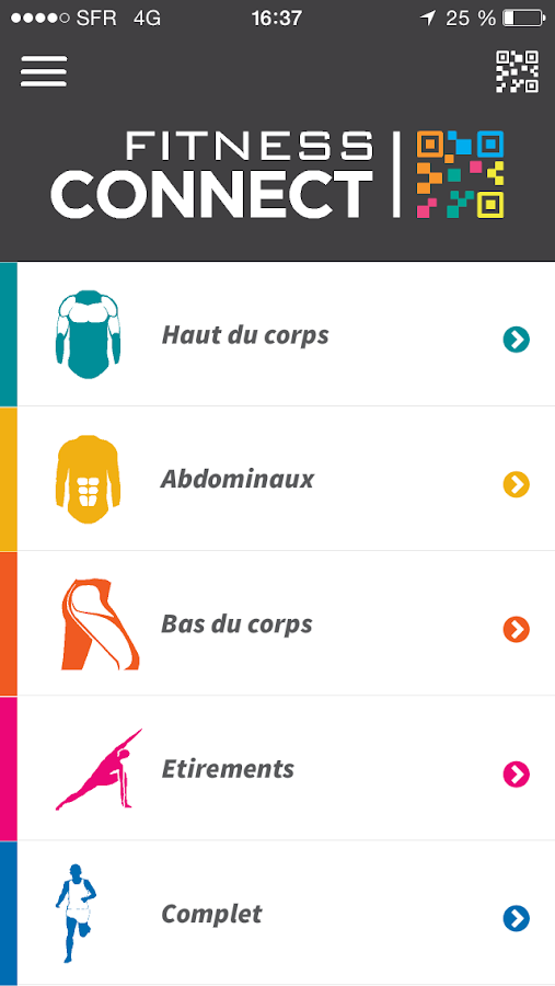 Fitness Connect- screenshot