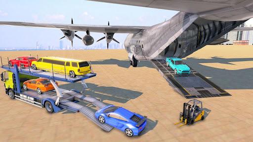 Car Transporter Truck Driver:Cargo Plane Simulator 1.0 screenshots 1