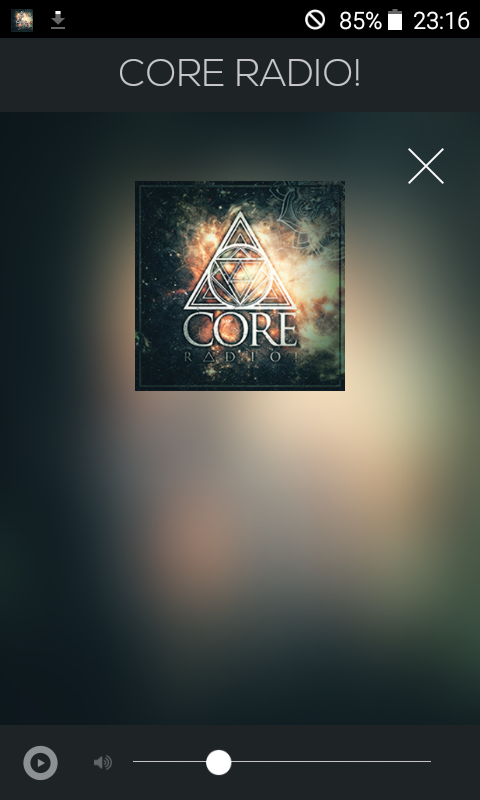CORE RADIO!- screenshot