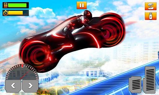 Light Bike Stunt : Motor Bike Racing Games 1.0 app download 5