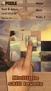 Boha a Ježíše puzzle - náhled