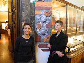 Photo: De gauche à droite, Sabine RIFFAUT IPHEP, Sabine PETIT Directrice IC2MP.