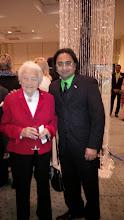 Photo: (R-L) Husain with Mississauga Mayor Hazel McCallion  http://canadaindiaeducation.com/introduction/media-outreach