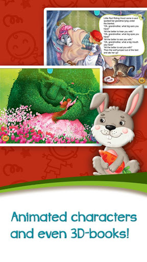 Azbooks - kid's fairy tales, songs, poems & games screenshot 5