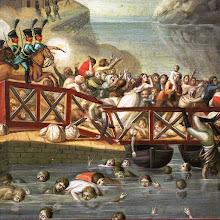 Photo: Desastre da Ponte das barcas Pormenor de Ex-voto da Irmandade das Almas_ Porto_ Igr S. João das Taipas