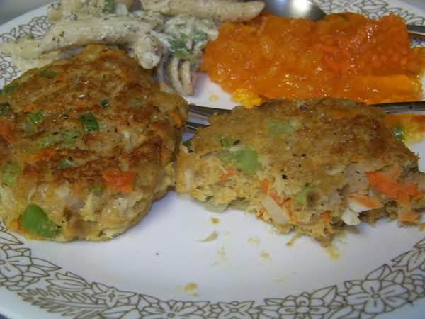 Confetti Crab Cakes Recipe