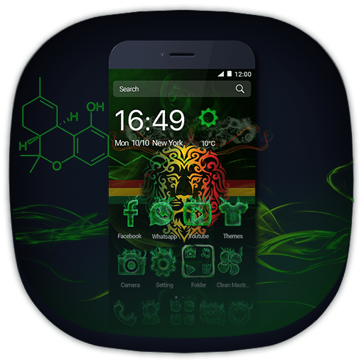 Green Lion and Smoke