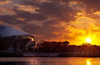 Photo: Stadium Sunset