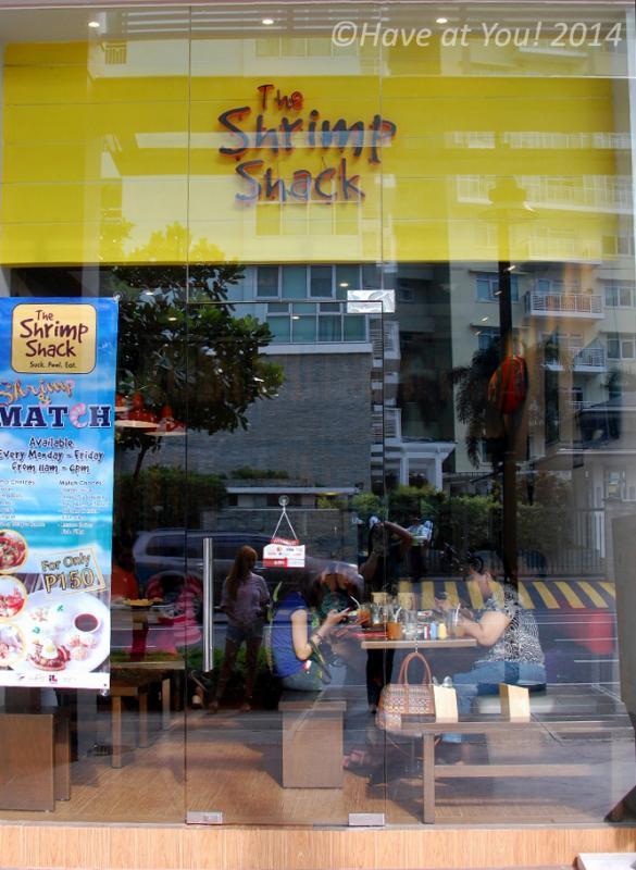 The Shrimp Shack storefront