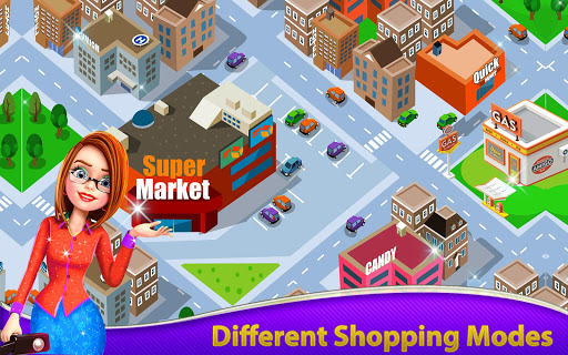 🏬 Supermarket Grocery Shopping: Mall Girl Games 1.5 screenshots 1