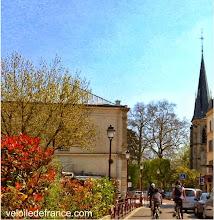 Photo: La charmante ville de Sceaux au Sud de Paris - Guide de balade à vélo de Sceaux à Meudon par veloiledefrance.com