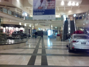 Photo: A sight I hope none of you ever see: the inside of the mall at 4:30am (taken by a very tired man stumbling into work)