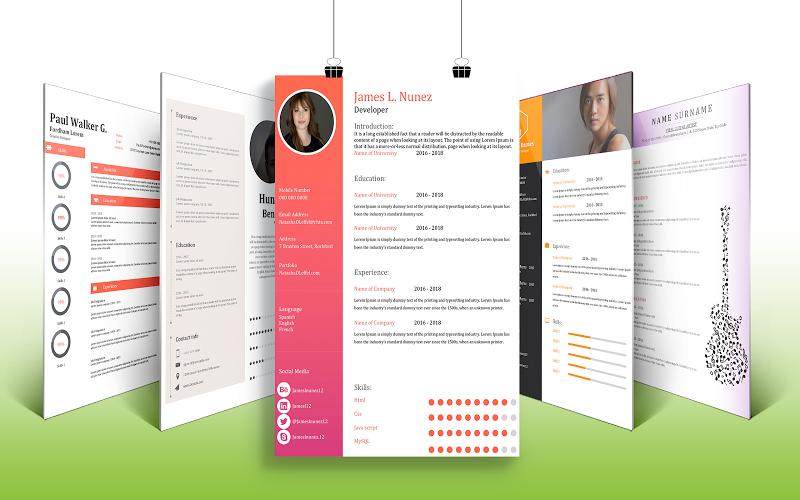 Resume Builder Curriculum Vitae Resume Designs Apk