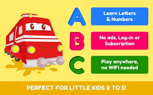 Troy the Letters & Numbers Train: Preschool Lesson Screenshot