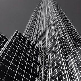 by Chad Johnson - Buildings & Architecture Other Exteriors ( black and white, pwcbuilding )