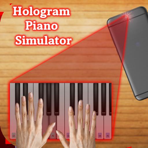 Hologram Piano Simulator Prank