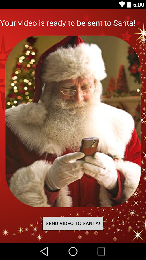 real video call santa android apps on google play