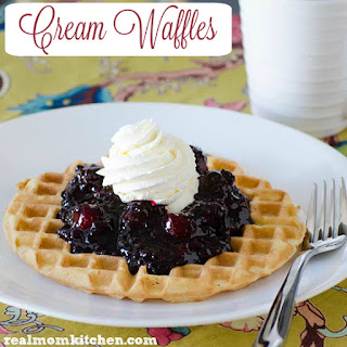Heavy Cream Waffles Recipes