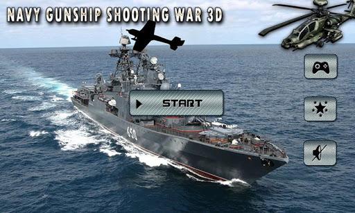 Navy Gunship Shooting War 3D