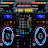 Virtual Music mixer DJ logo