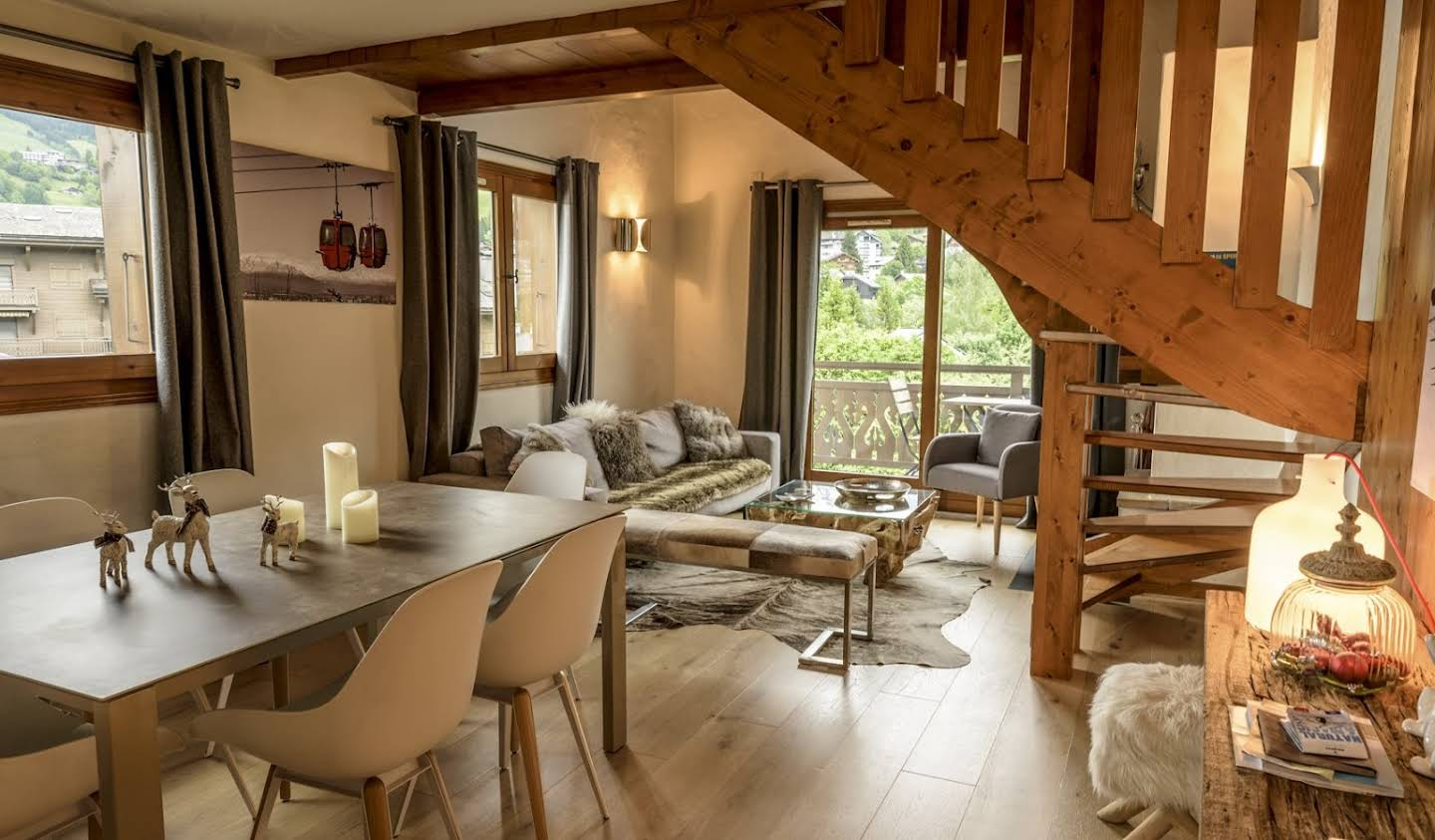 Apartment with pool Megeve