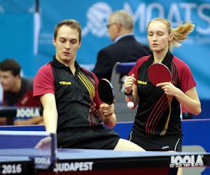 Sept Belges au mondial de tennis de table