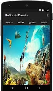 Radios del Ecuador screenshot 1