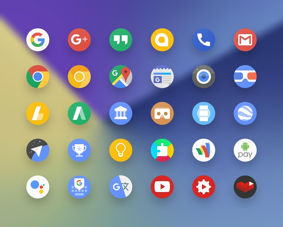 grace ux pixel icon pack android apps on google play