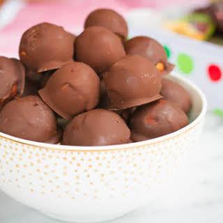 Healthier Peanut Butter Balls.