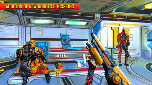 Robot Shooting FPS Counter War Terrorists Shooter 2.8 screenshots 2