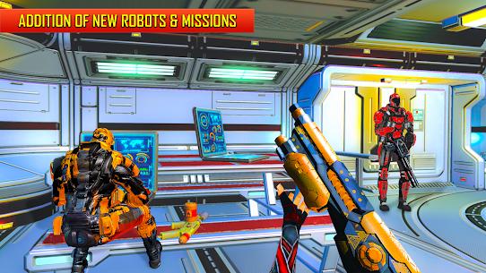 Robot Shooting FPS Counter War Terrorists Shooter 2