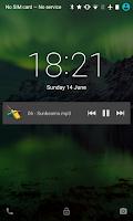 Screenshot of Samba Network Music Player