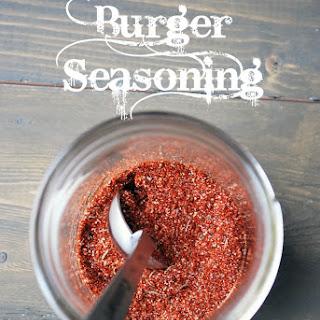 Homemade Burger Seasoning