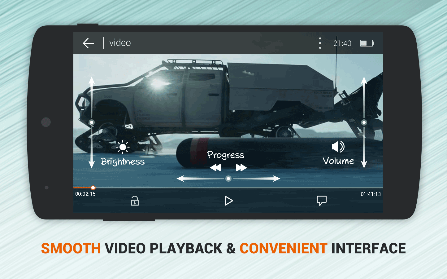Dolphin Video - Flash Player For Android- screenshot