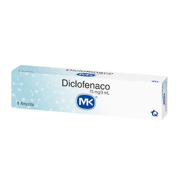 Diclofenaco MK 75mg   Ampolla Caja x1Amp.